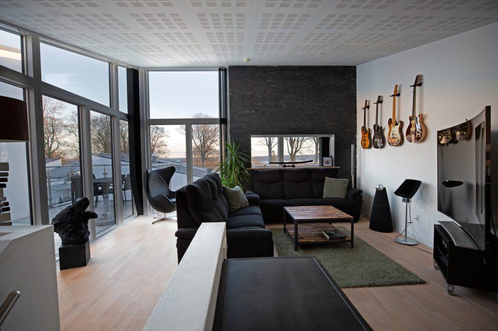 decoração sofisticada piso